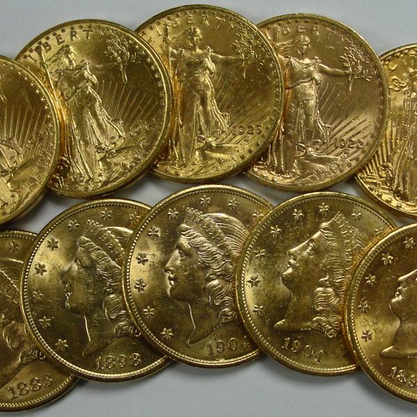 Semi Numismatic Gold